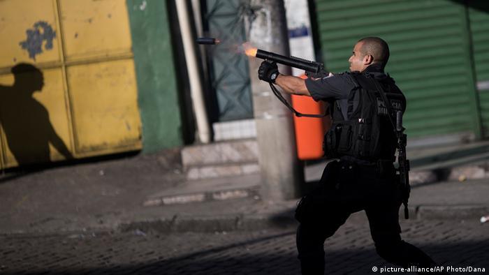 Brasilien Protest gegen Polizeigewalt eskaliert