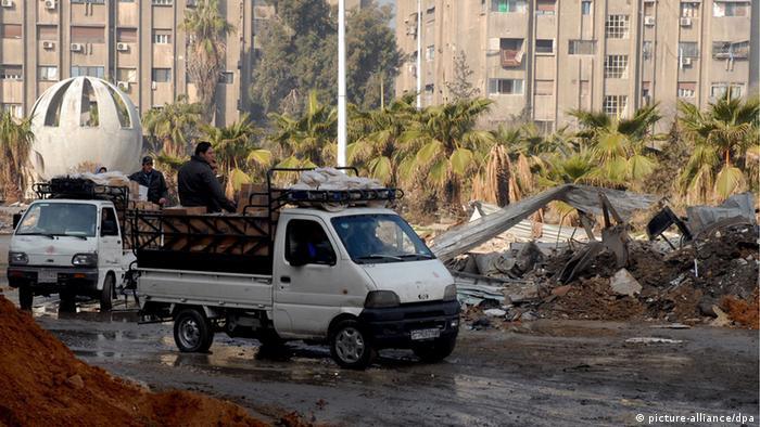 Yarmouk Camp Damaskus Syrien