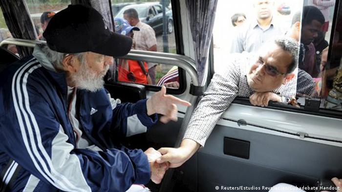 Kuba Fidel Castro öffentlicher Auftritt Fidel Castro