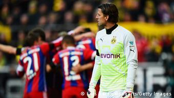 Borussia Dortmund goalkeeper Roman Weidenfeller
