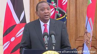 Kenia Garissa Universität Anschlag Kenias Präsident Uhuru Kenyatta äußert sich zu demAnschlag
