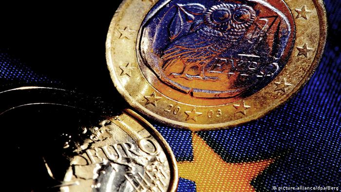 Greek euro coins (picture-alliance/dpa/Berg)