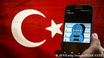 Symbolbild Türkei Twitter Sperrung Zensur (AFP/Getty Images/OZAN KOSE)