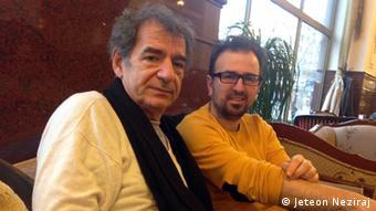 Regjizori dhe producenti i pjesës, Miki Manojlovic dhe Jeton Neziraj