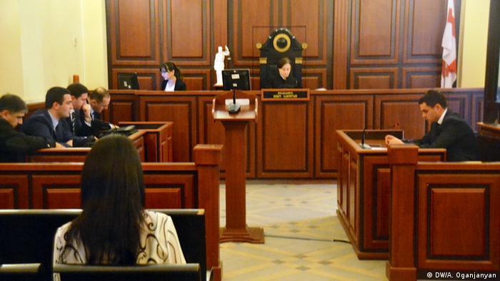 Слушания по делу об избиении экс-депутата Гелашвили