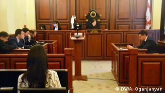 Процес у справі Саакашвілі в Тбілісі