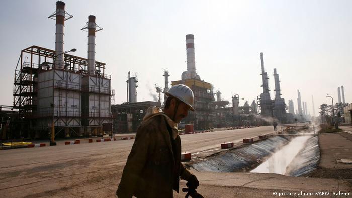 Erdölraffinerie Iran
