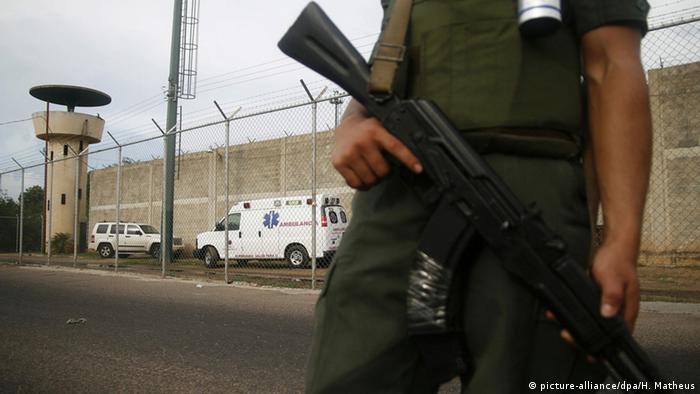 Symbolbild Venezuela Gefängnis
