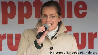 Dresden Oberbürgermeisterwahl Pegida Kandidatin Tatjana Festerling