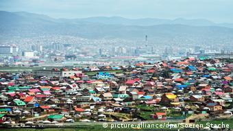 Jurten am Stadtrand von Ulan Bator (Foto:dpa)