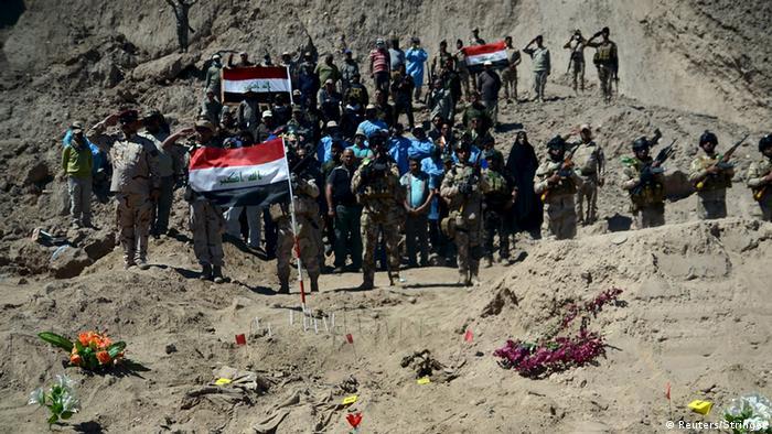 Irak Tikrit Massengrab