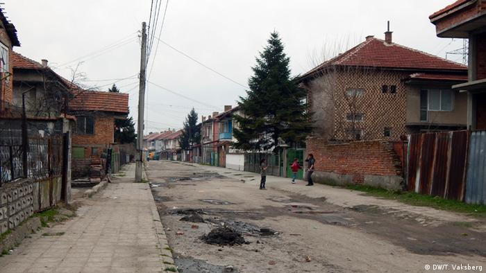 Bulgarien Roma-Siedlung der Stadt Vidin