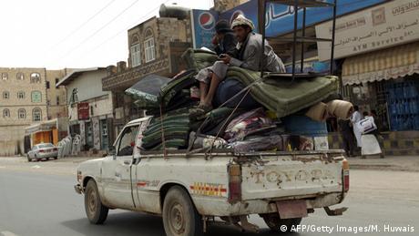 Jemen Flüchtlinge Sanaa
