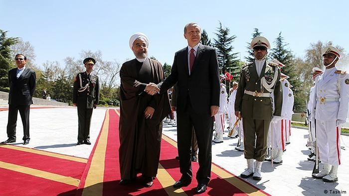 Iran Türkei Erdogan mit Rohani in Teheran (Tasnim)