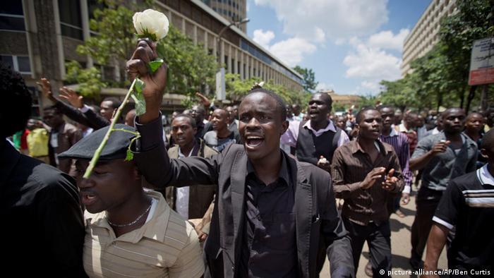Kenia Studenten trauern um Garissa-Kommilitonen 07.04.2015