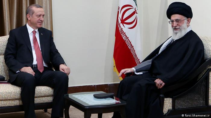 Iran - Türkischer Präsident Recep Tayyip Erdogan zu Besuch in Teheran