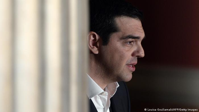 Griechenland Tsipras Porträt