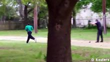 USA Polizist erschießt Mann Videostill