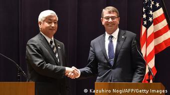 USA Verteidigungsminister Ashton Carter in Japan