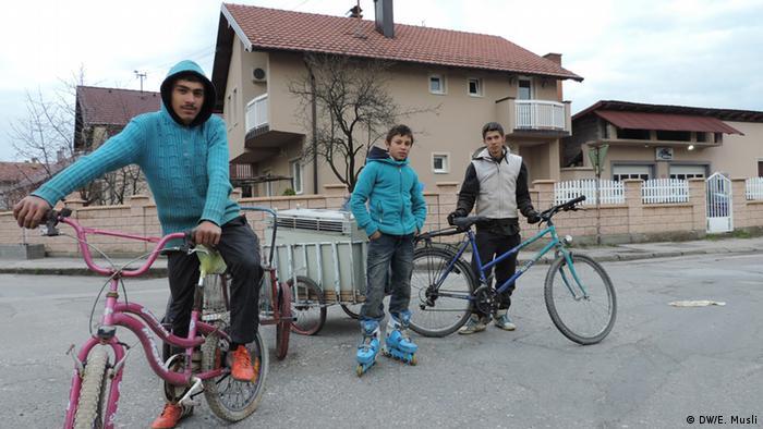 Roma in Bijeljina Bosnien und Herzegowina