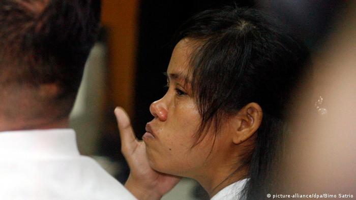 In Indonesien zum Tode verurteilten Philippina Mary Jane Veloso (picture-alliance/dpa/Bimo Satrio)