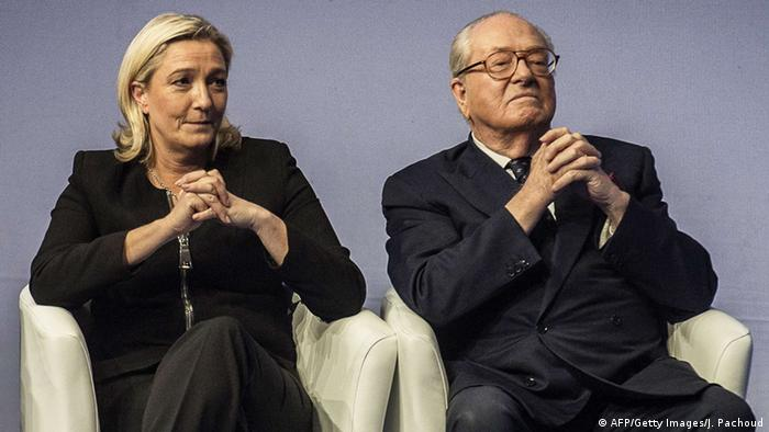 Jean-Marie und Marine Le Pen (Photo: JEFF PACHOUD/AFP/Getty Images)