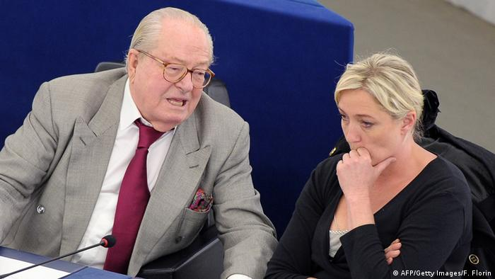 Jean-Marie Le Pen and Marine Le Pen