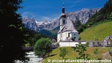 Dorfkirche in Bayern