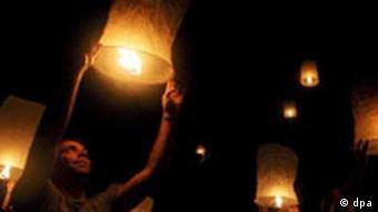 فستیوال فانوسها در تایلند