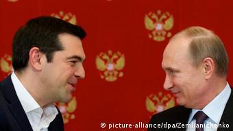 Russland Griechenland Tsipras bei Putin