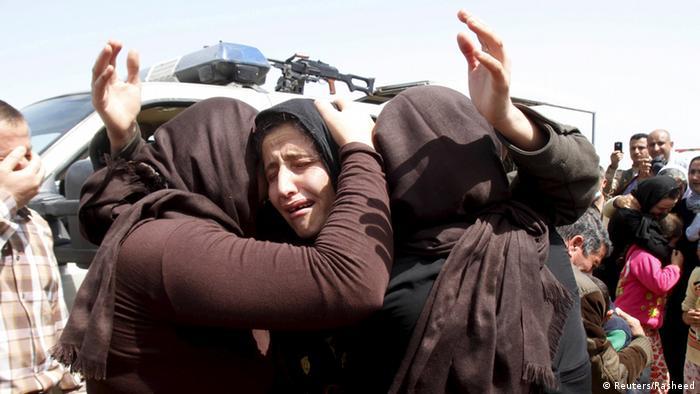 IS lässt mehr als 200 Jesiden frei (Reuters/Rasheed)