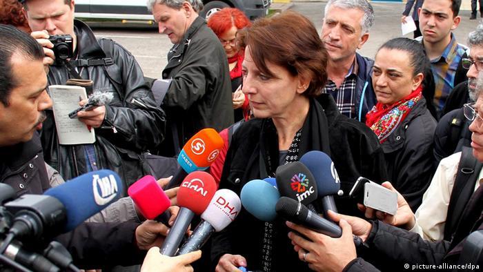Frederike Geerdink Türkei Prozess PKK