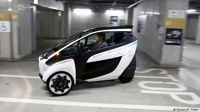 Japan i-Road Elektroauto von Toyota