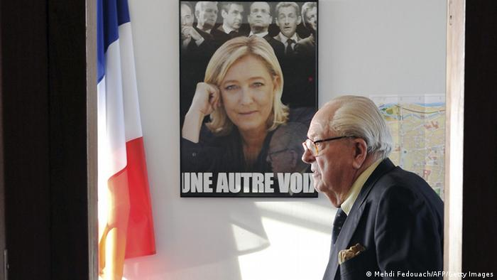 Frankreich Jean-Marie und Marine Le Pen (Photo: MEHDI FEDOUACH/AFP/Getty Images)
