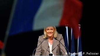 Marine Le Pen, Präsidentin des Front National, 16.03. 2015 (Foto: Reuters)