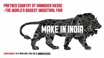 Логотип Индии - страны-партнера Ганноверской промышленной ярмарки в 2015 году