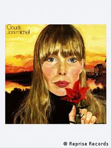album cover Joni Mitchell Clouds (Reprise Records)