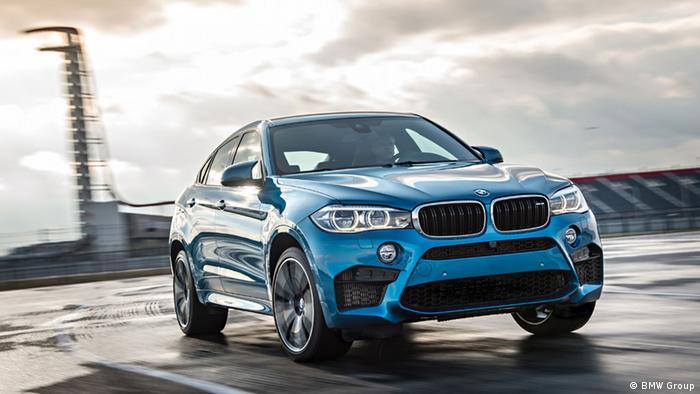 BMW X6M bei der LA Auto Show