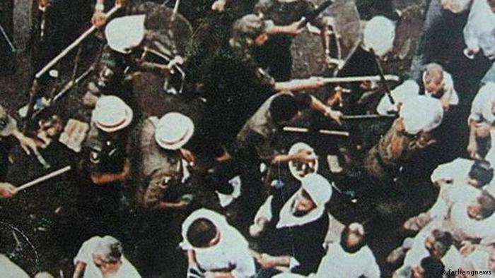 1987 Übergriffe der Polizei in Saudi-Arabien
