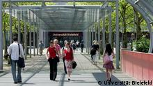 Der Campus der Universität Bielefeld. Copyright: Universität Bielefeld
