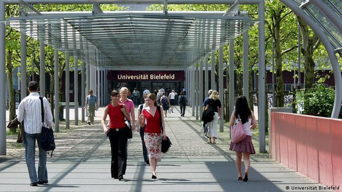 Der Campus der Universität Bielefeld