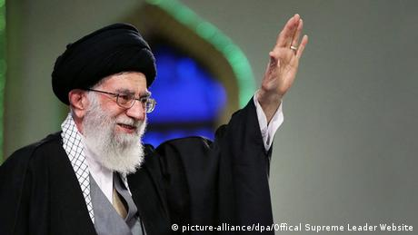 Rede Ajatollah Ali Chamenei zu Atomgesprächen (picture-alliance/dpa/Offical Supreme Leader Website)