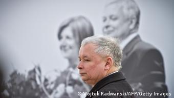 Ярослав Качиньский, брат-близнец погибшего президента Польши Леха Качиньского