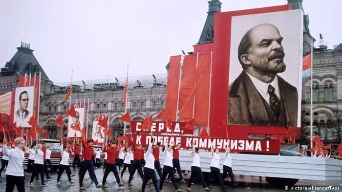 Sowjetunion Parade auf dem Roten Platz (picture-alliance/Tass)