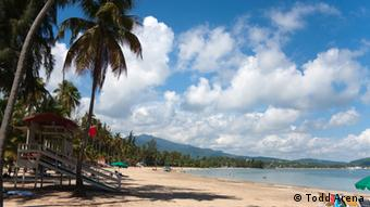 Strand in Puerto Rico