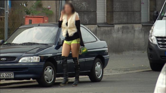 Bitch stop blonde hooker picked up on czech street - 5 3