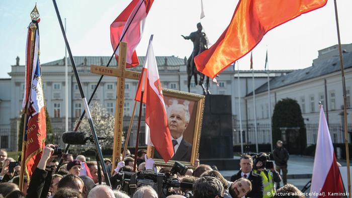 У Варшаві вшановують загиблих в авіакатастрофі під Смоленськом, 10 квітня