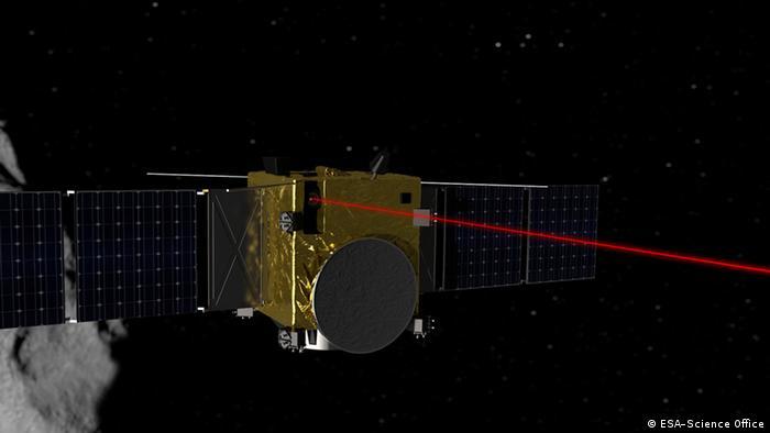 Weltraum ESA Laser link