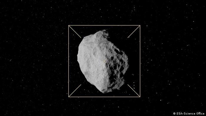 Weltraum ESA Target: Didymoon