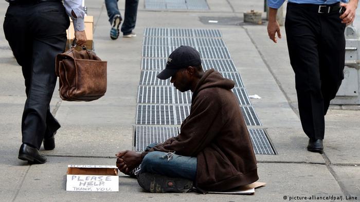 Symbolbild Armut in New York